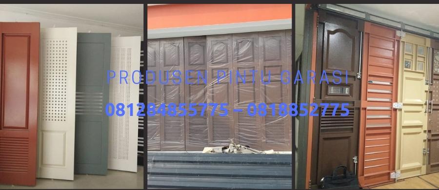 Ruang Garasi Lebih Luas Dengan Pintu Garasi Panel Besi